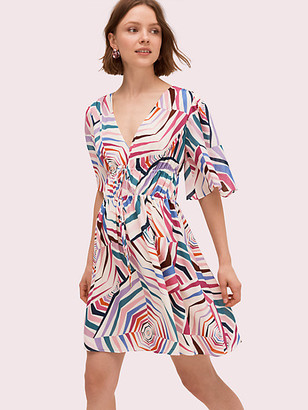 Kate Spade Geobrella Silk Dress