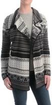 Icelandic Design Kiera Cardigan Sweater - Wool Blend (For Women)