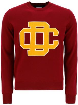 DSQUARED2 DC Crest Knit Sweater