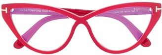 Tom Ford Cat-Eye Optical Glasses