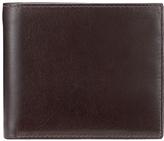John Lewis Paisley Bifold Leather Wallet, Brown