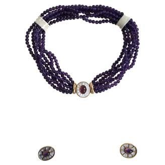 Van Cleef & Arpels Purple Crystal Jewellery sets