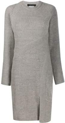 Cédric Charlier ribbed-knit dress