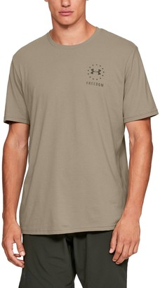 Under Armour Men's UA Freedom Left Chest T-Shirt