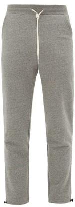 John Elliott Sochi Cotton-jersey Track Pants - Mens - Dark Grey