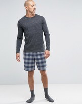 Jack Wills Check Woven Lounge Shorts