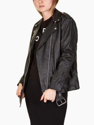 Michael Kors Biker Leather Jacket