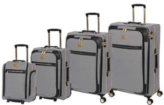 it Girl Prestigious 4-Piece Softside Luggage Set