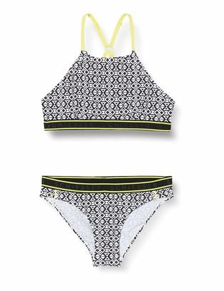 Schiesser Girl's Highneck-Bikini Swimwear Set