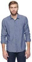 Splendid Jersey Lined Chambray Shirt