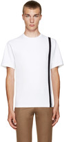Kolor White Single Stripe T-Shirt