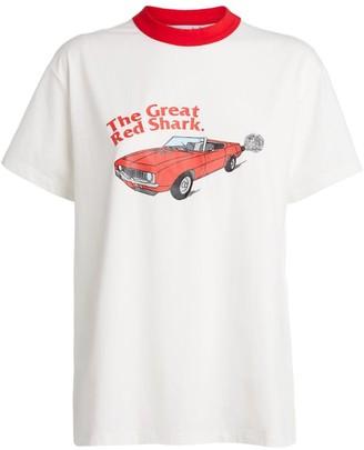 Natasha Zinko + DUOltd Car Motif T-Shirt