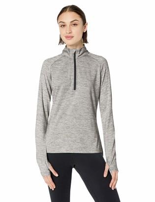 Core 10 Amazon Brand Plus Size Women's LS 1/4 Zip