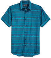 American Rag Men's Two-Tone Geo-Print Shirt, Only at Macy's