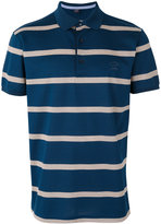 Paul & Shark striped polo shirt - men - Cotton - XXXL