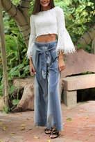 Angie Cotton Wide/leg Pant