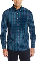 Dockers Long Sleeve Color Saturated Plaid Cvc Woven Shirt