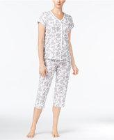 Charter Club Cropped Petite Pajama Set, Created for Macy's