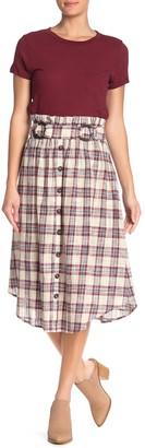 Moon River Double Ring Belt Skirt