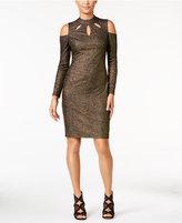 Thalia Sodi Cold-Shoulder Cutout Sheath Dress, Only at Macy's