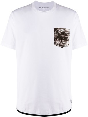 White Mountaineering camo pocket T-shirt