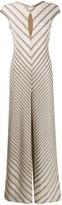 Missoni diagonal stripe knit jumpsuit