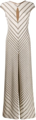 Missoni Diagonal Stripe Knit Jumpsuit