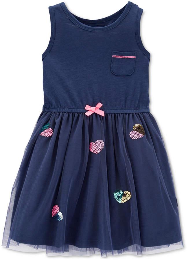 f92e47b2f45 Carter Toddler Girls Tulle Sundress