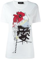 DSQUARED2 heart sketch T-shirt