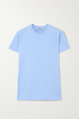 Prada Set Of Three Cotton-jersey T-shirts - Blue