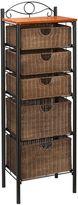 Bed Bath & Beyond Southern Enterprises Iron/Wicker 5-Drawer Unit