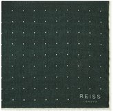Reiss Pinta Dotted Wool Pocket Square