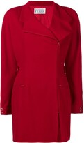 Gianfranco Ferre Pre Owned off-center zipped jacket