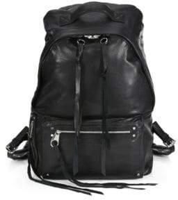McQ Loveless Leather Backpack