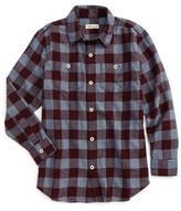 Tucker + Tate Boy's Plaid Flannel Shirt