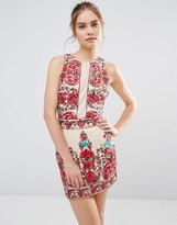Endless Rose Embroidered Sleeveless Dress