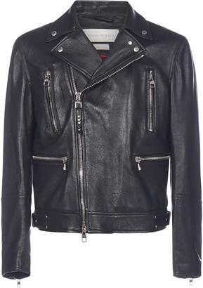 Alexander McQueen Leather Biker-style Jacket