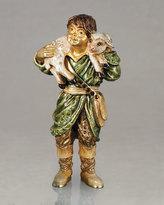 Jay Strongwater Shepherd Boy Figurine