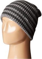 MICHAEL Michael Kors Thermal Stripe Fold Up Cuff Hat