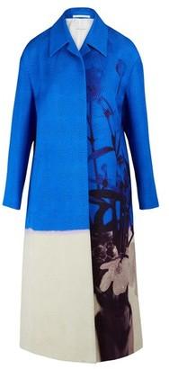 Dries Van Noten Textured maxi coat
