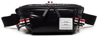 Thom Browne Logo Patch 4-Bar Belt Bag