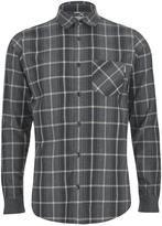 Carhartt Ls Sampras Shirt Ribknit Cuff - Dark Grey Heather