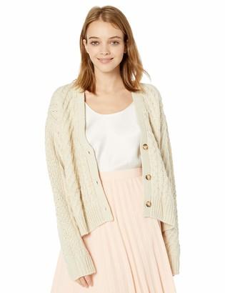 Volcom Women's Bettergetter Boxy Cardigan Sweater