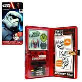 Star Wars Stormtrooper Sticker Activity Fun Portfolio - Multi-Colored
