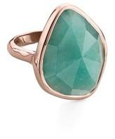 Monica Vinader Women's Siren Nugget Semiprecious Stone Cocktail Ring