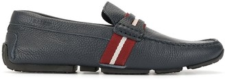 Bally Pietro striped loafers