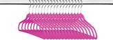 Pink Slim Velvet Hanger - Set of 18