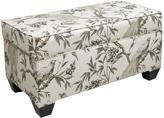 Skyline Furniture Storage Bench in Roberta Winter