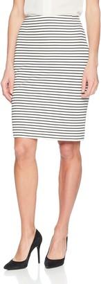 Kasper Women's Textured Striped Skirt