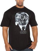 Star Wars Starwars Millenium Short Sleeve Graphic T-Shirt-Big and Tall